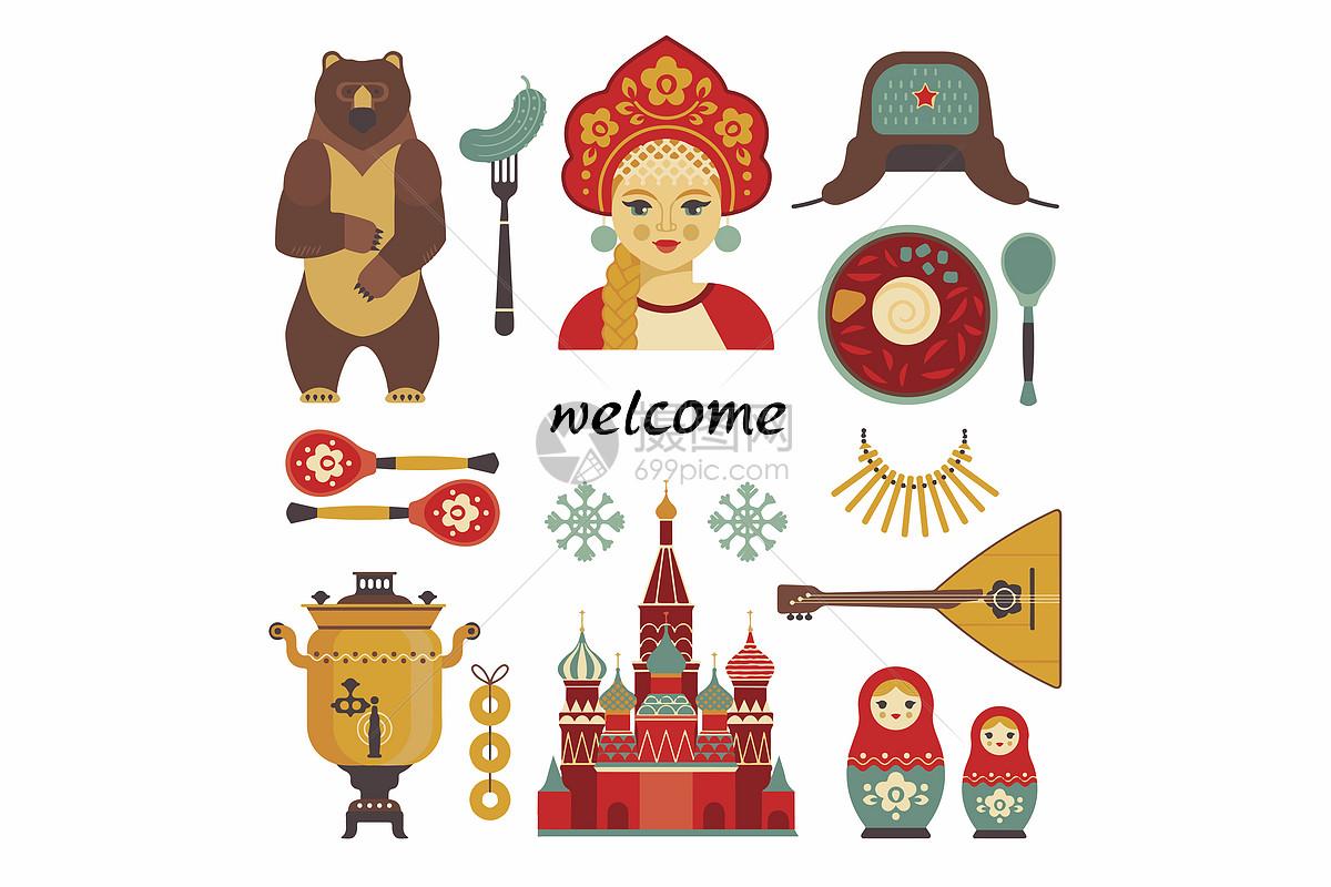 俄罗斯文化图片