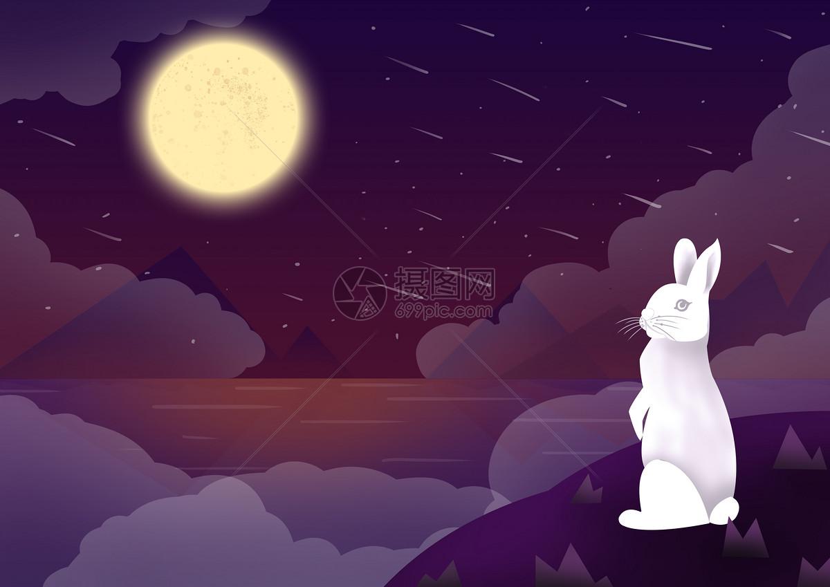 微信朋友圈 qq空间 新浪微博  花瓣 举报 标签: 中秋中秋节云兔子小白
