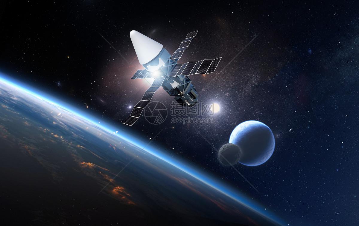 炫酷科幻星球图片