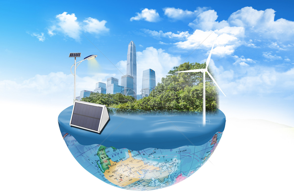 创意环保图图片