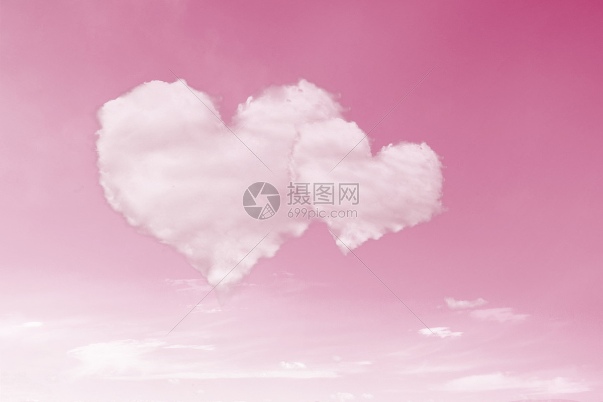 情人节云朵图片