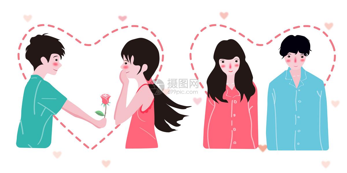 情侣头像图片