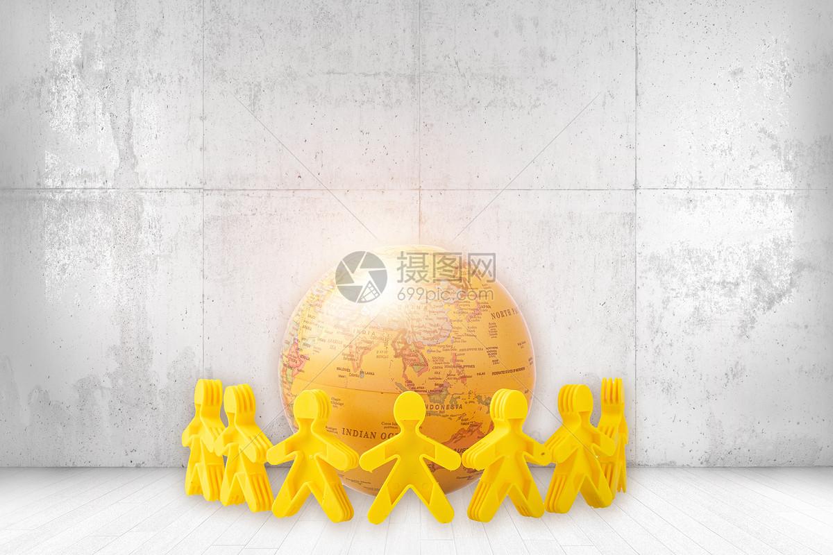 创意环保绿色地球图片