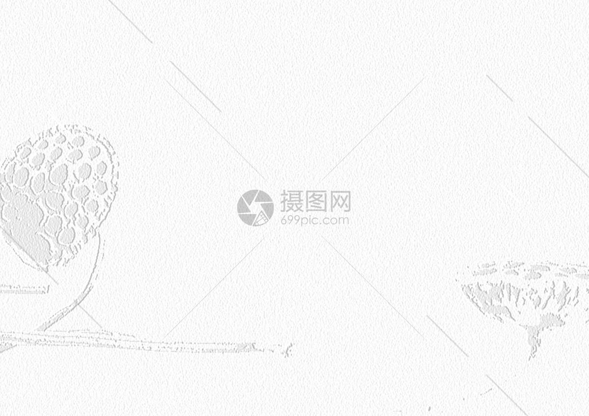 白色莲蓬纸张图片