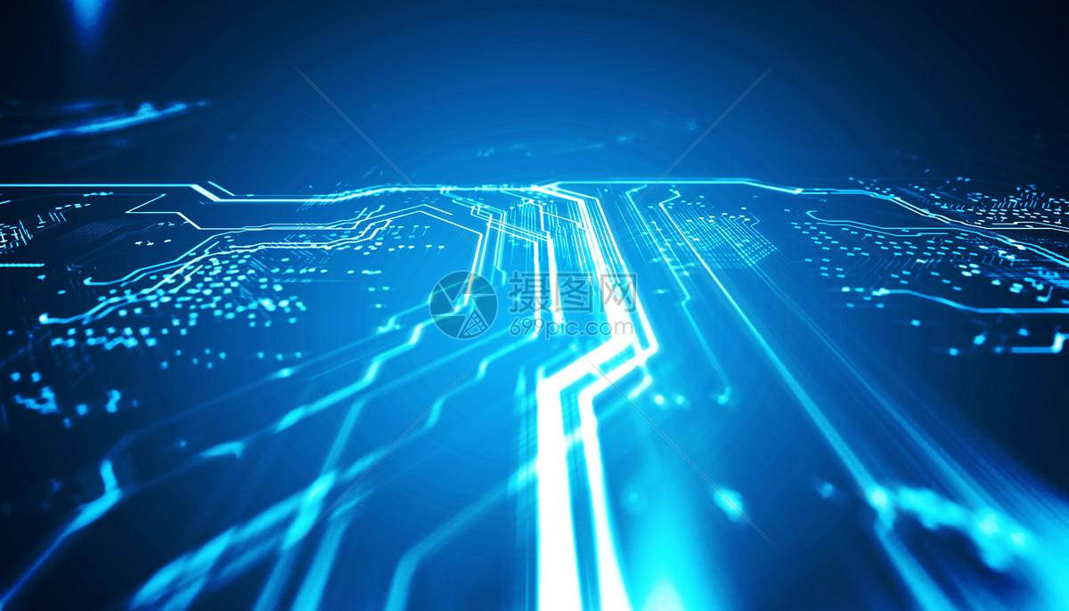 摄图网 创意合成 科学技术 科技电路板.psd