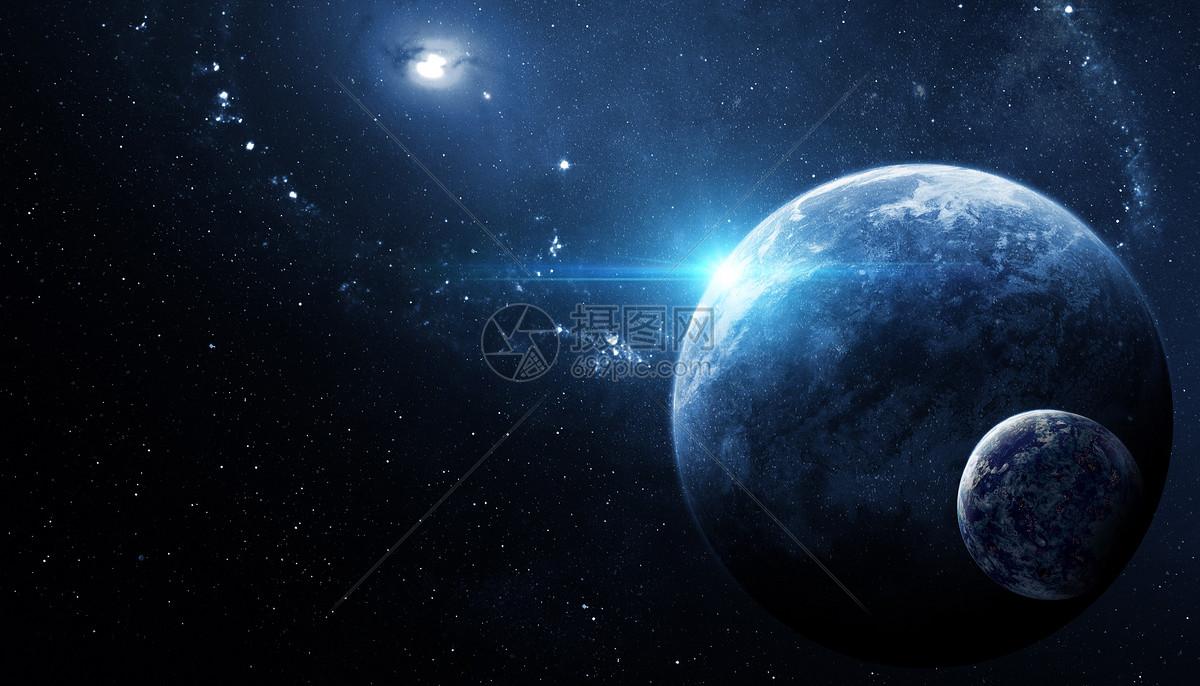 科幻星空探索图片