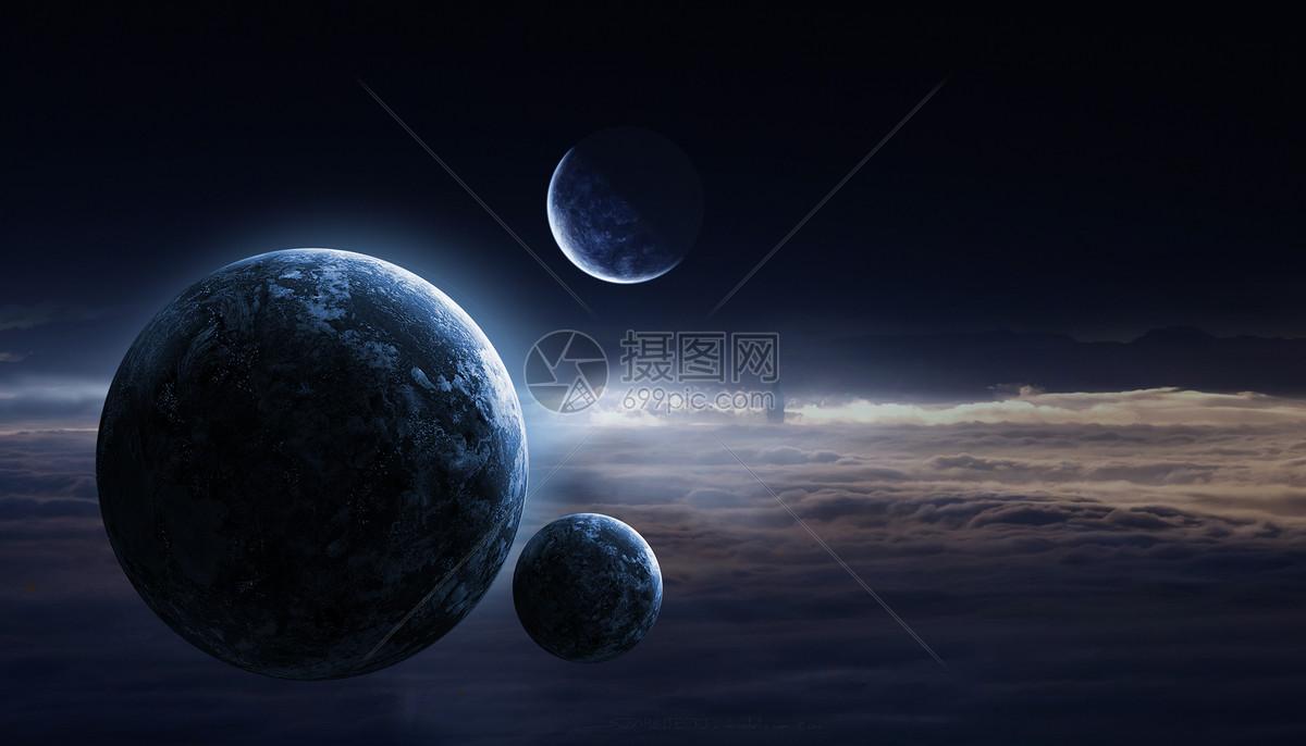 浩瀚星空图片