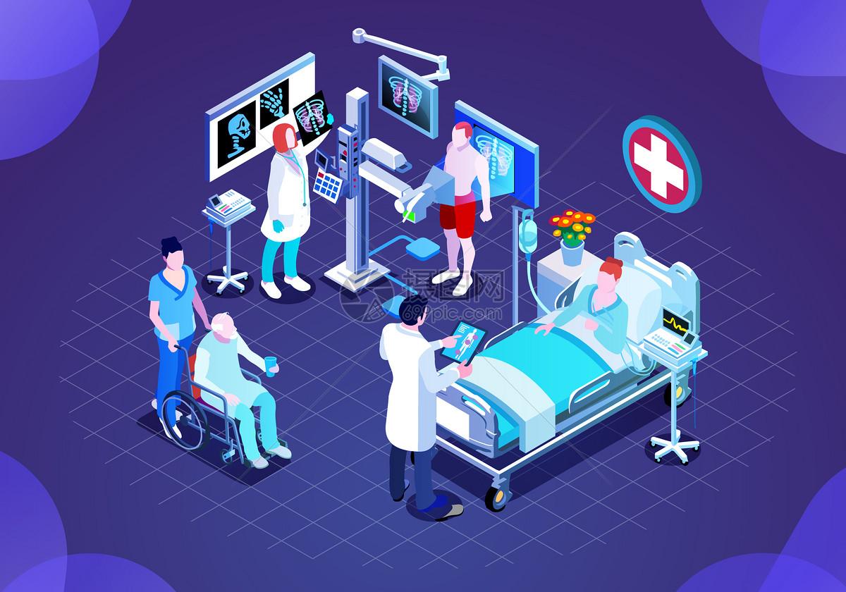 25D未来商务医疗图片