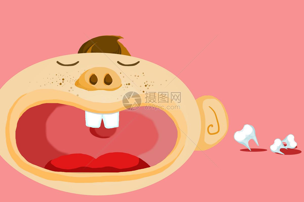 关注儿童牙齿健康图片