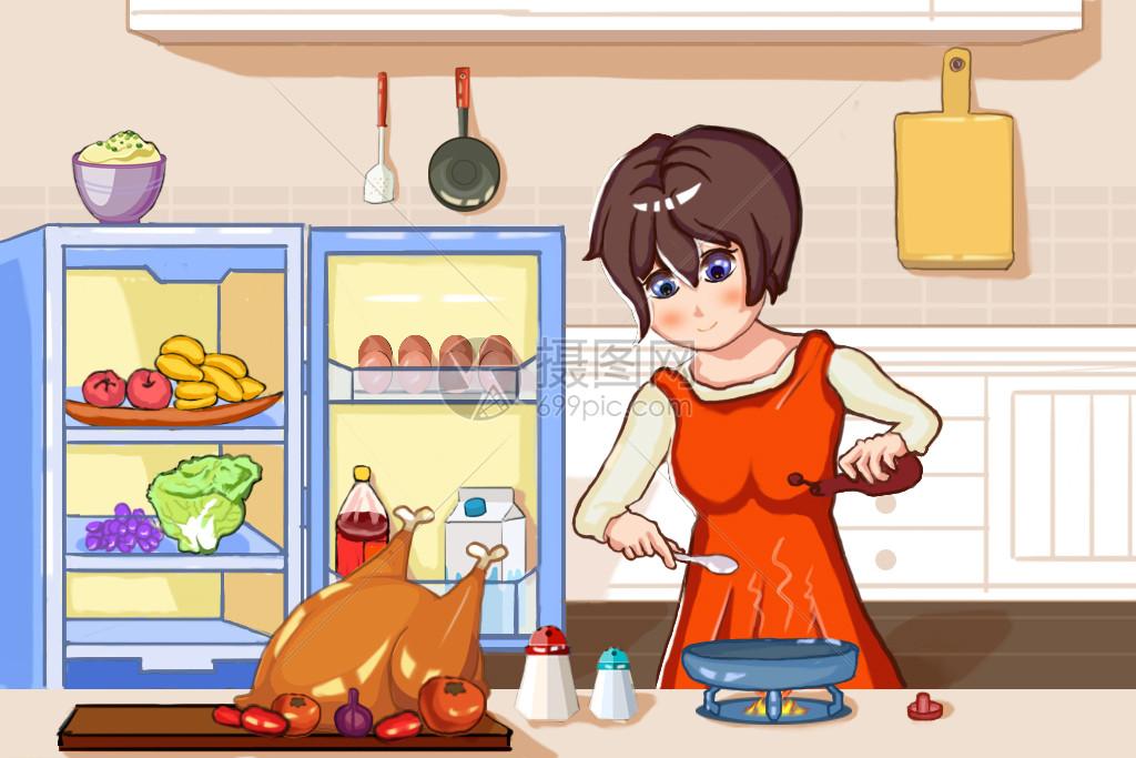 感恩节烹饪美食图片