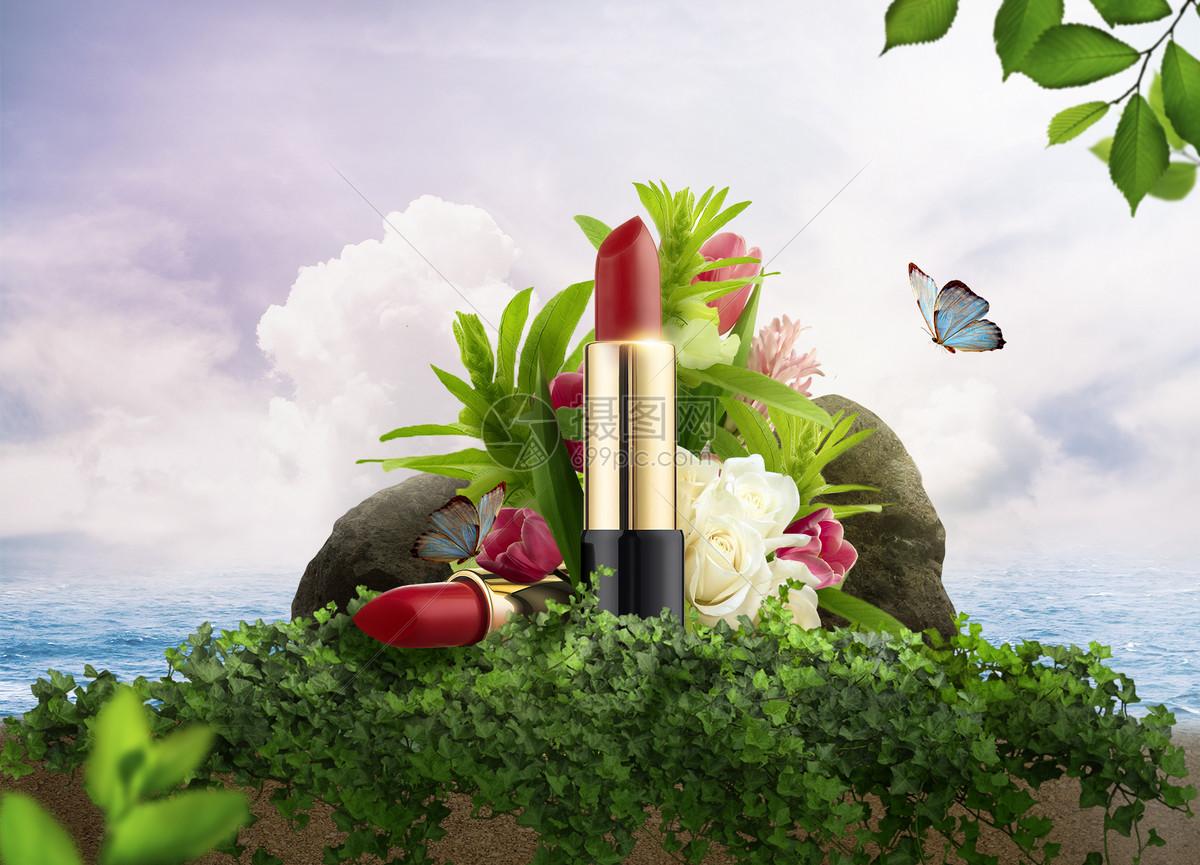 纯天然口红产品图片