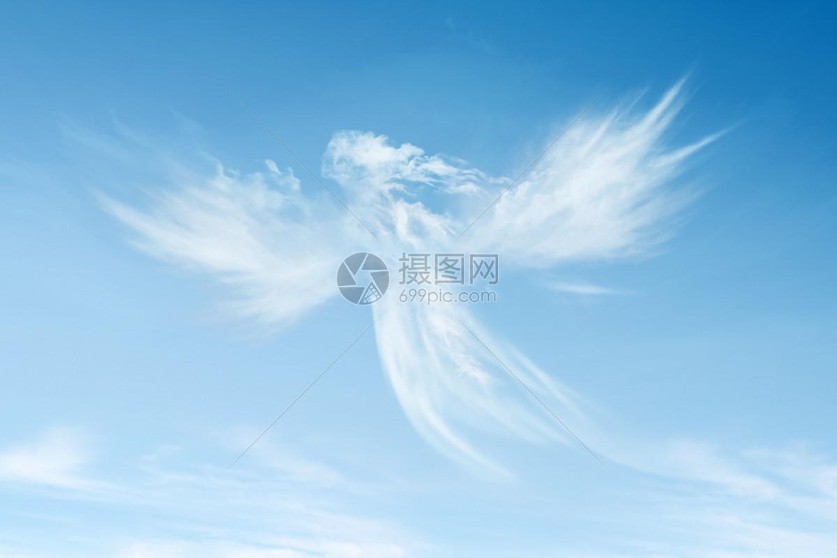 天使白云图片