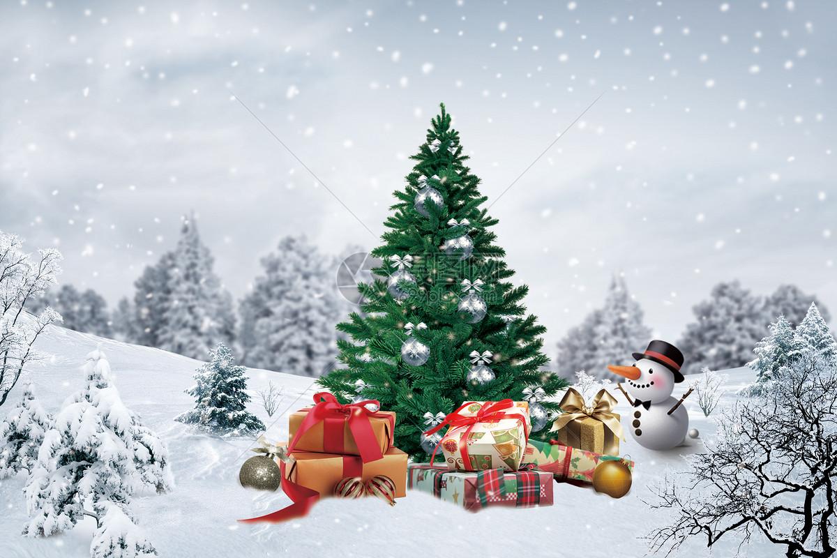 圣诞节场景图片