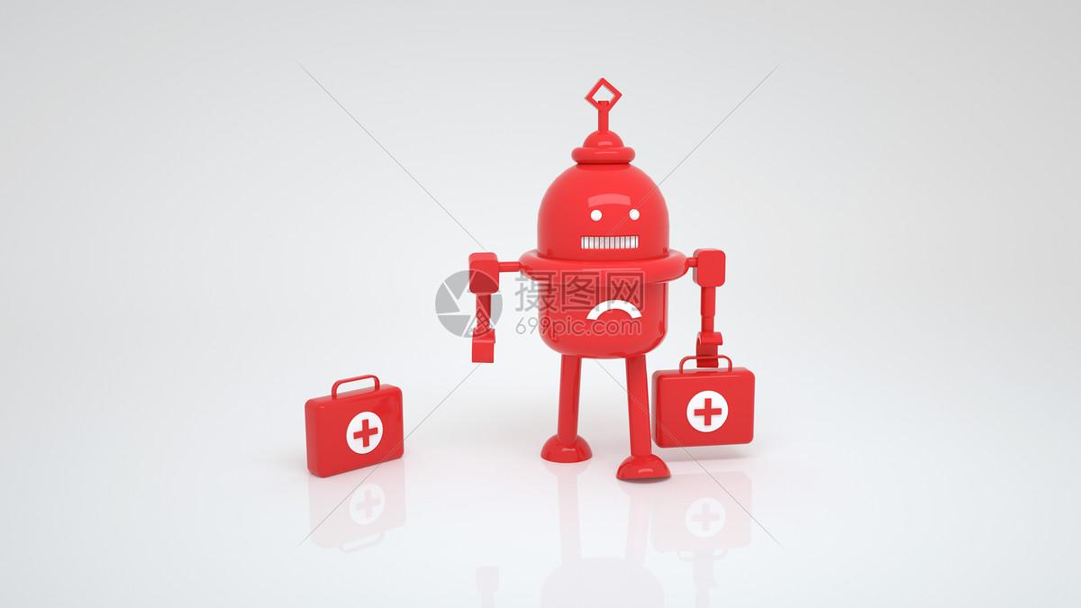 机器人智慧医疗图片