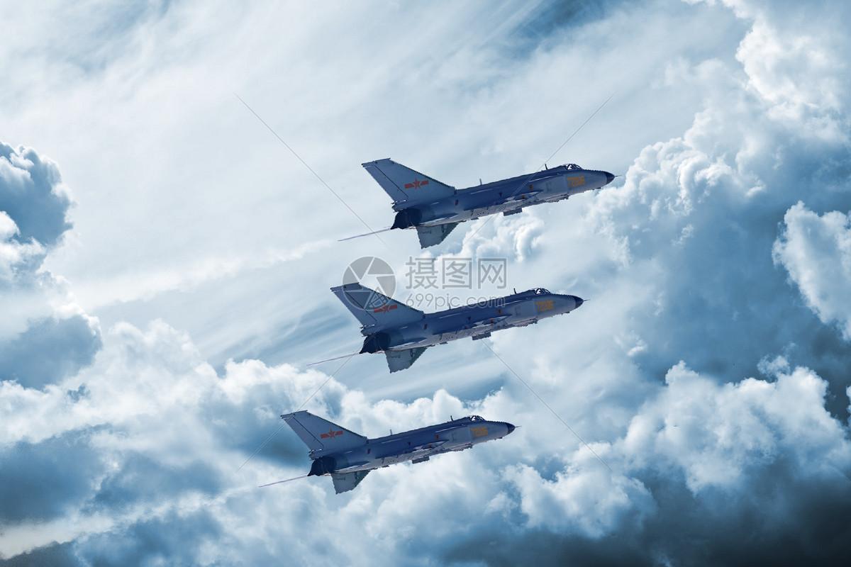 军事战斗机场景图片