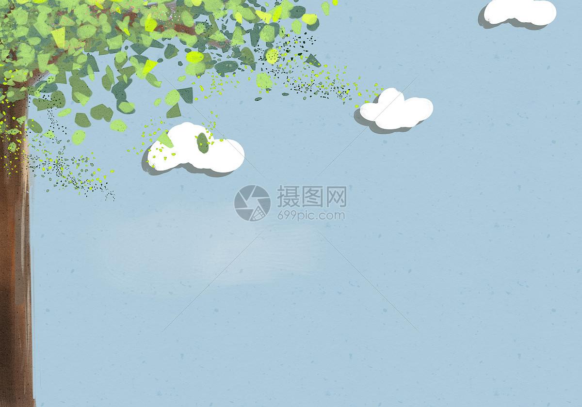 大树背景图片