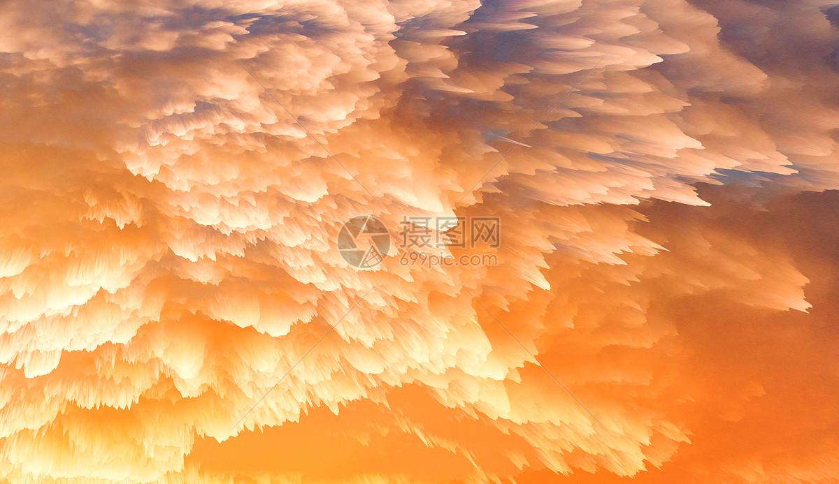 色彩烟雾喷溅背景图片