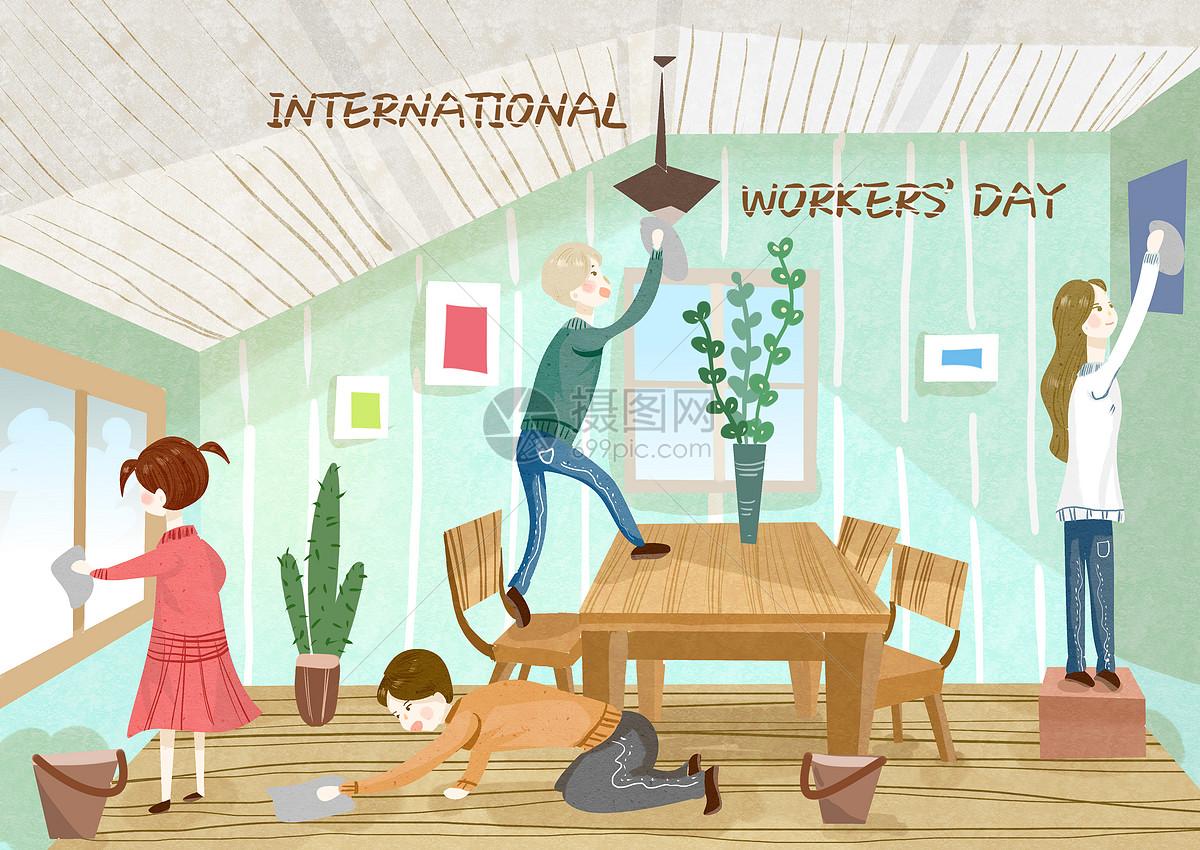 劳动节图片