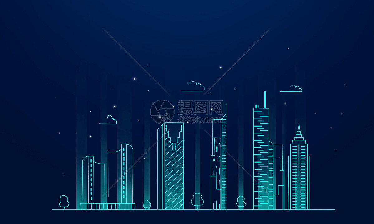 商务科技城市图片