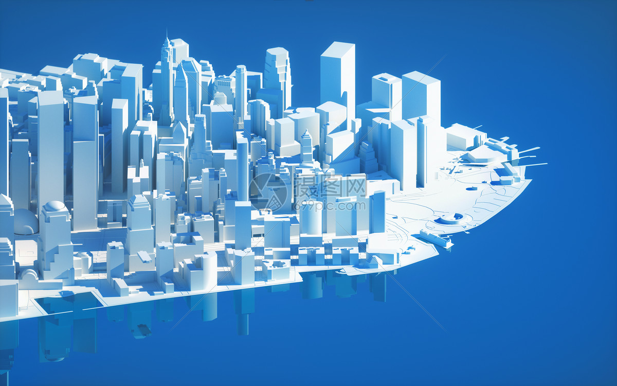 城市建筑场景图片
