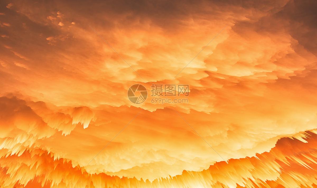 色彩喷溅背景图片