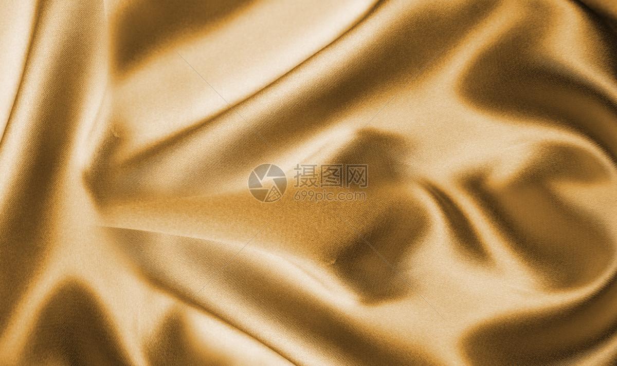 金色丝绸背景图片
