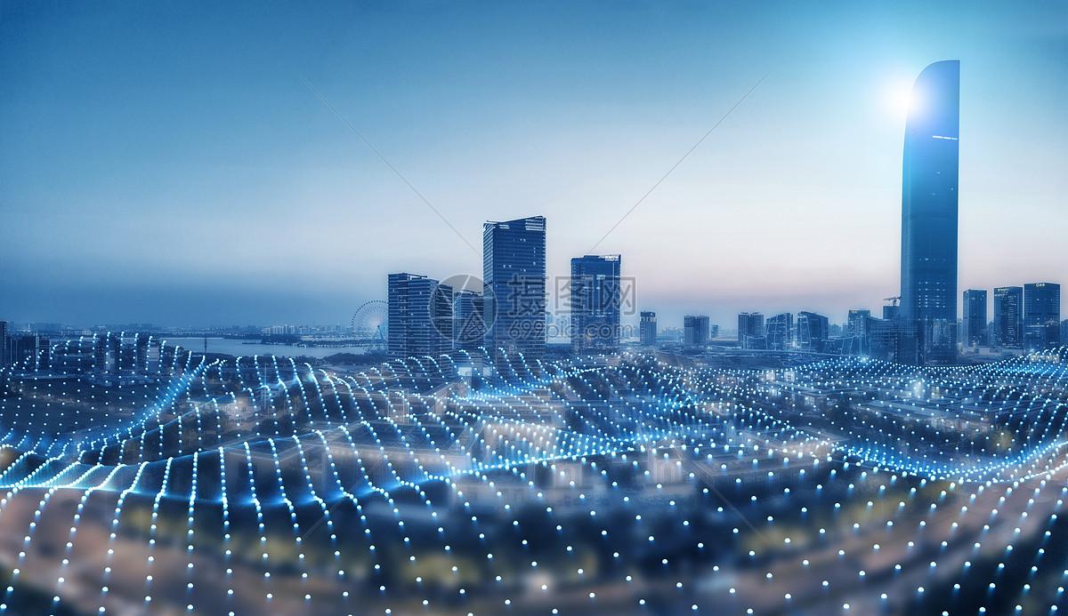 网络科技城市图片