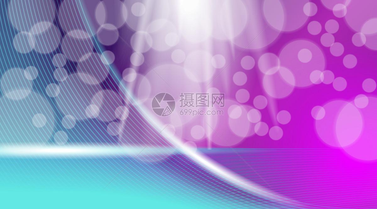 彩色光效化妆品背景图片