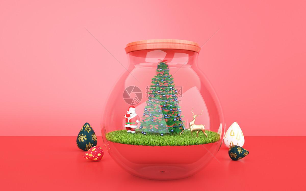 创意圣诞节背景图片