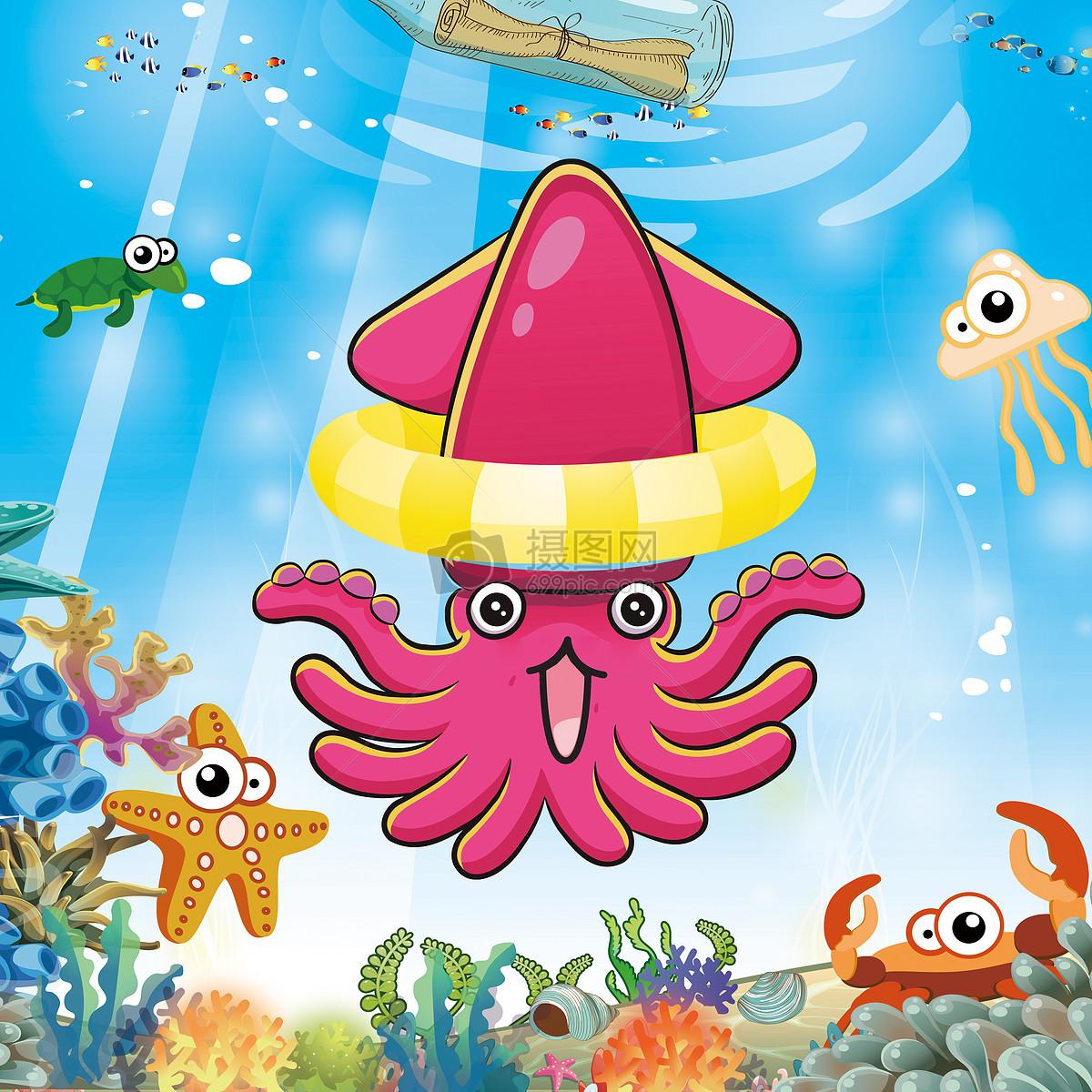 卡通海洋图片素材_免费下载_jpg图片格式_vrf高清图片