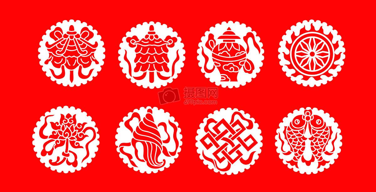 佛教八宝-八吉祥图