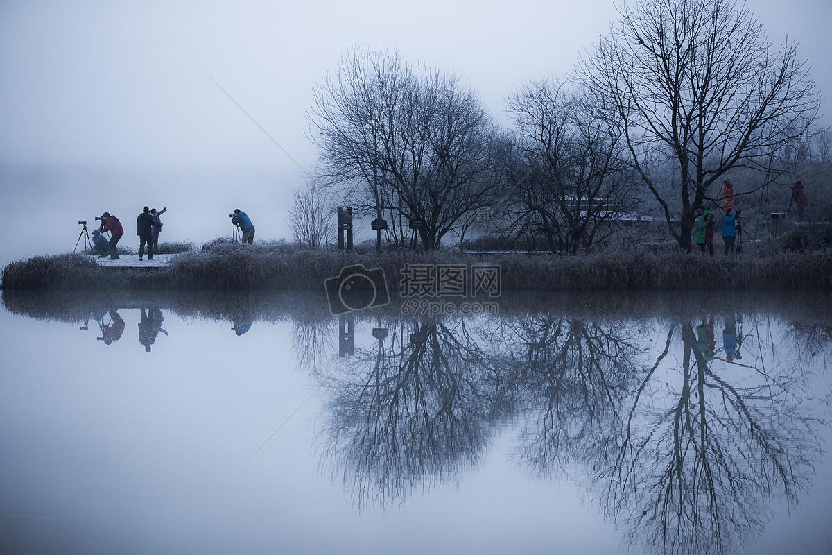 神龙架大九湖大雾风光图片