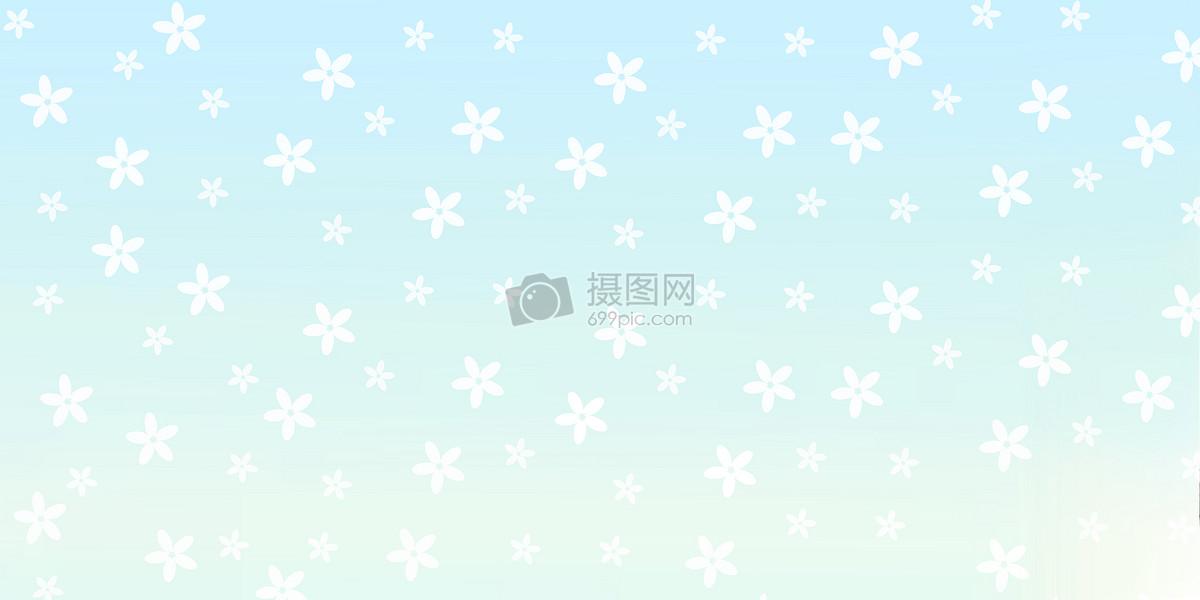 桌面背景小清新蓝色花形背景图案图片蓝色花形背景图案图片免费下载