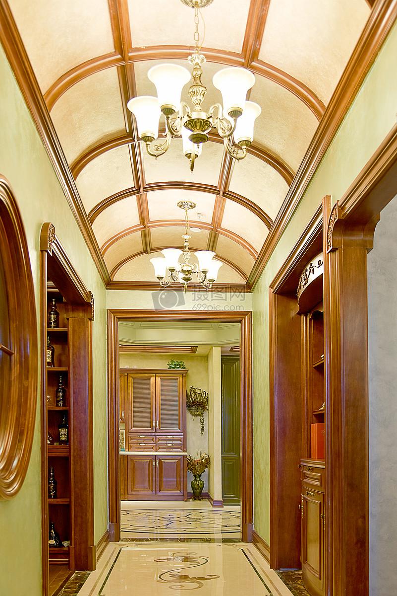 现代简约简欧式家装家居家具厨房客厅柜子吊顶吊灯走廊