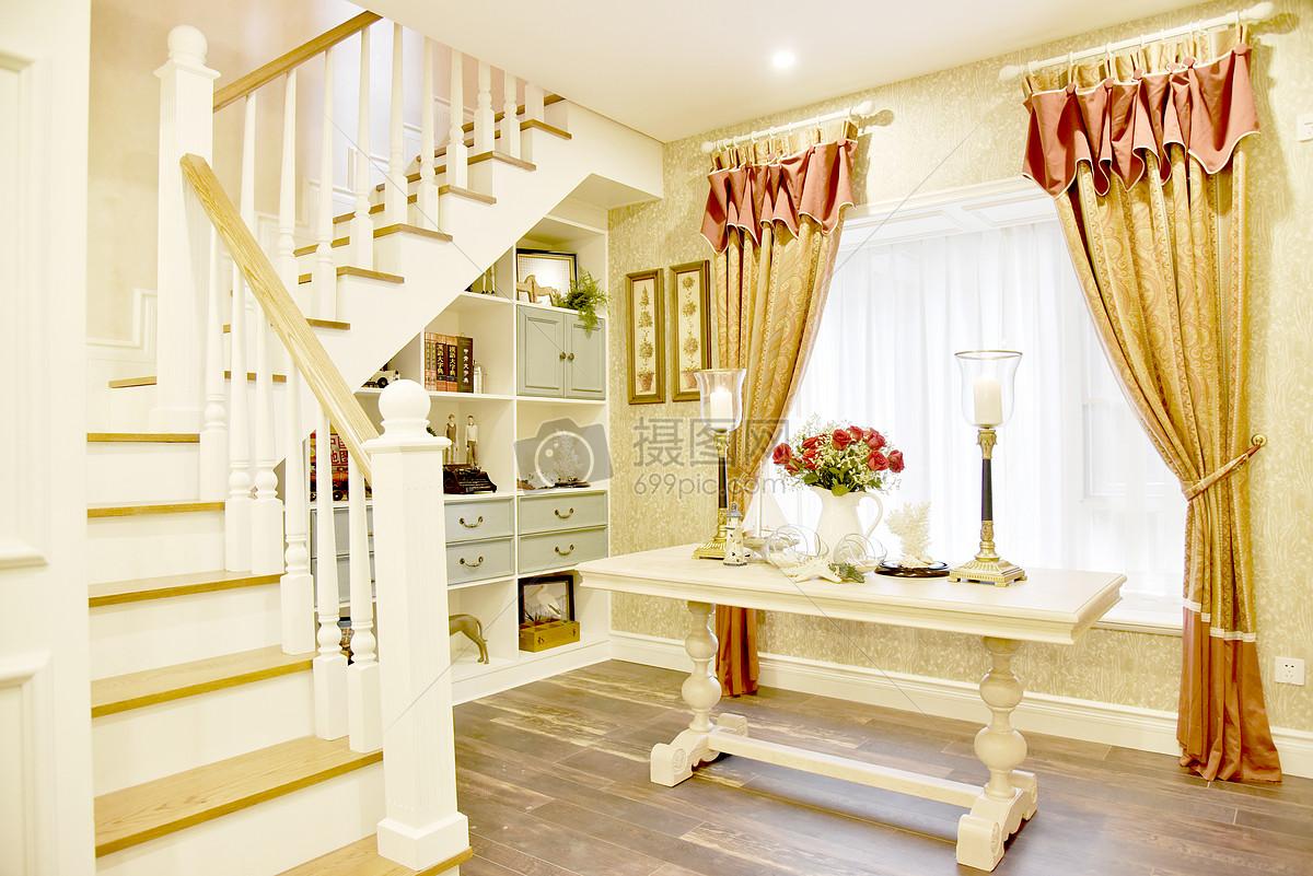现代简约欧式风格家庭生活楼梯休息室窗户杂物间小摆件小装饰