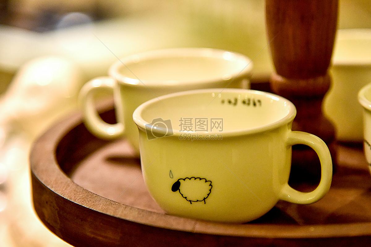 现代简约欧式风格家庭生活小摆件和小装饰咖啡杯