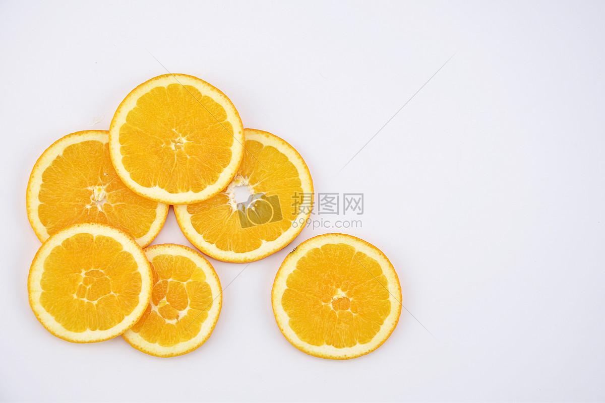 橙子背景水果切片摆拍图片素材_免费下载_jpg图片格式