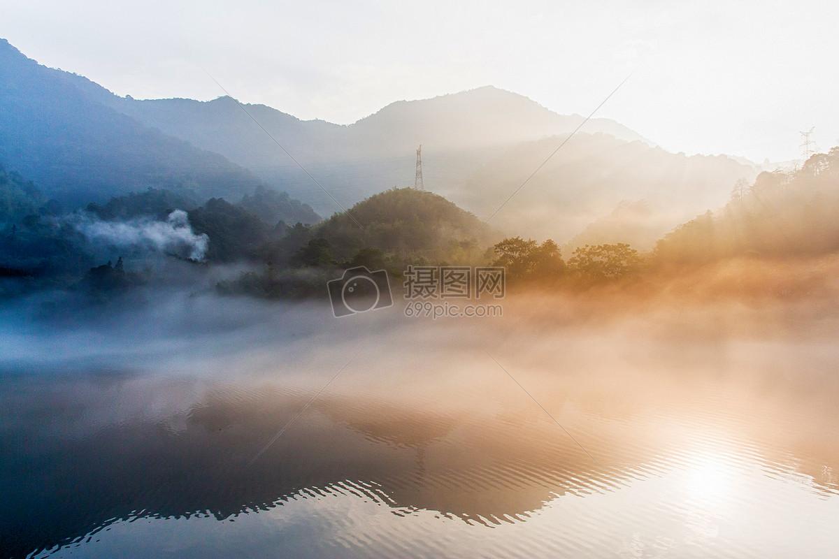 图片 照片 自然风景 日出东江湖jpg  分享: qq好友 微信朋友圈 qq空间