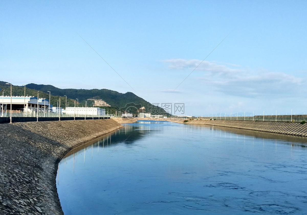 大亚湾核电站外河图片