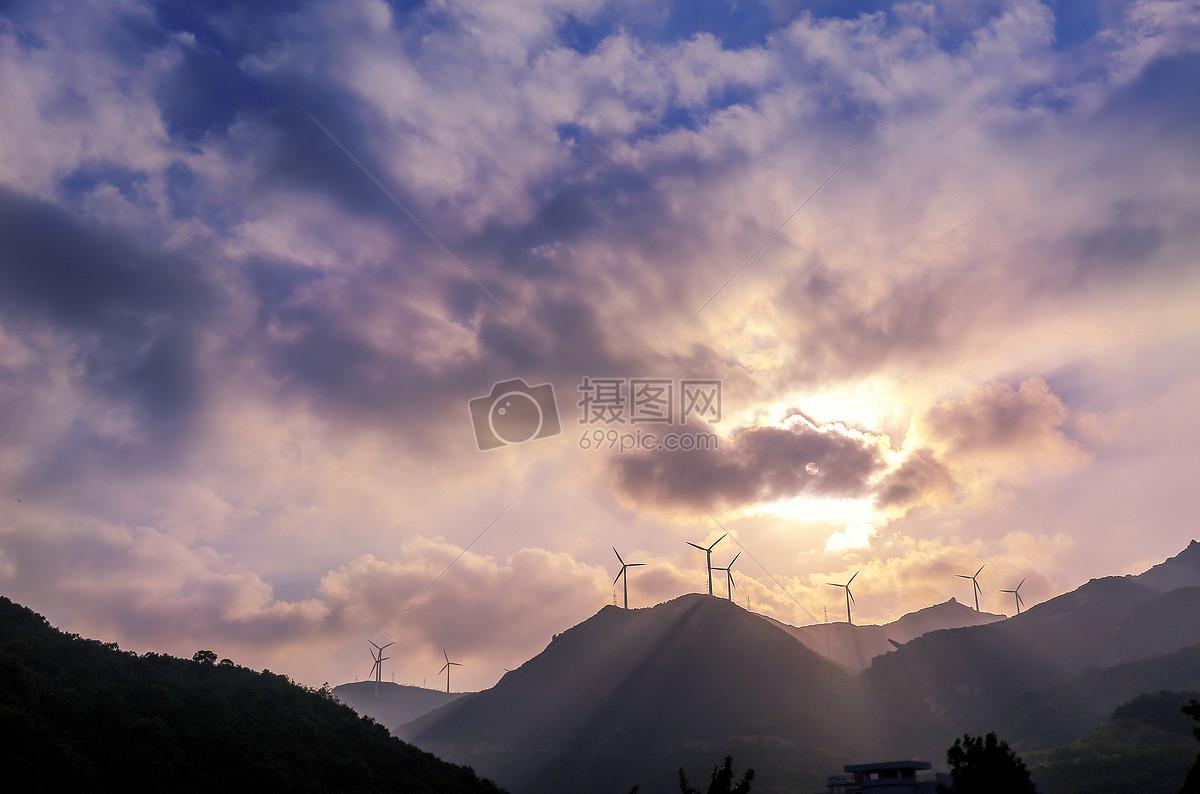风车山图片