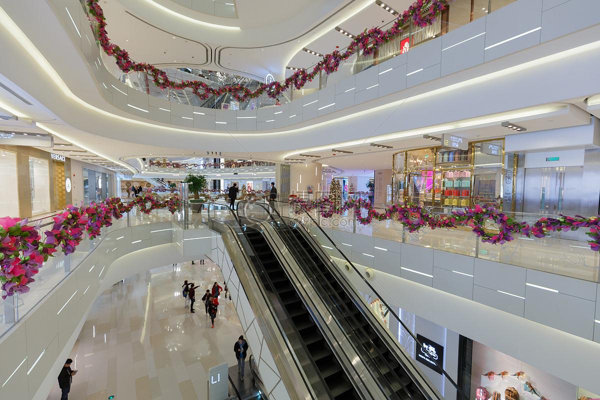 有特色的时尚商场购物中心图片