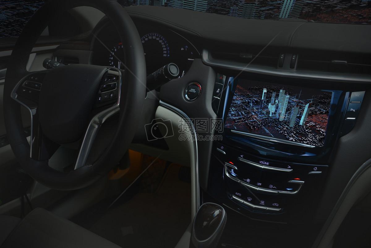 未来城市汽车3D导航图片