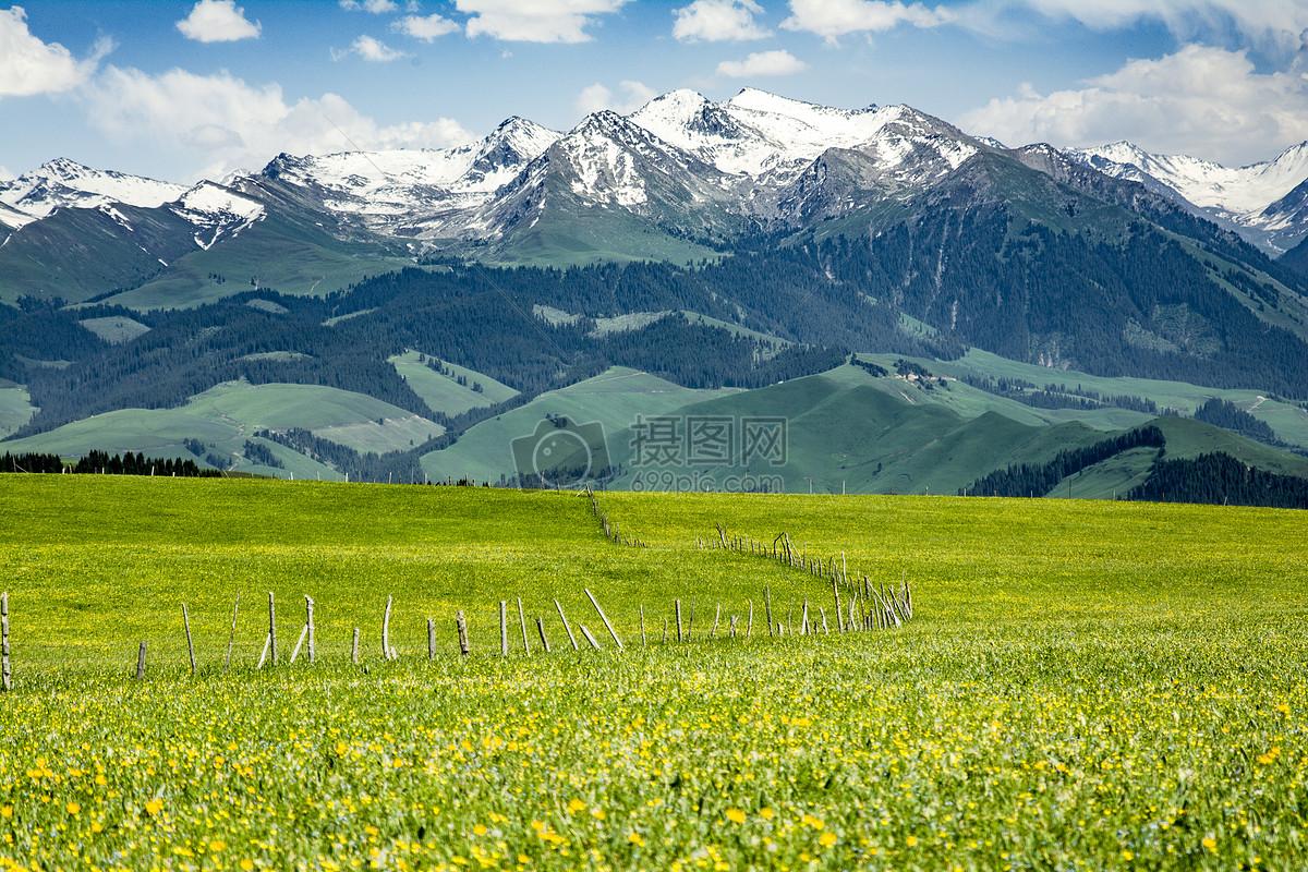 图片 照片 自然风景 新疆伊犁风光.jpg