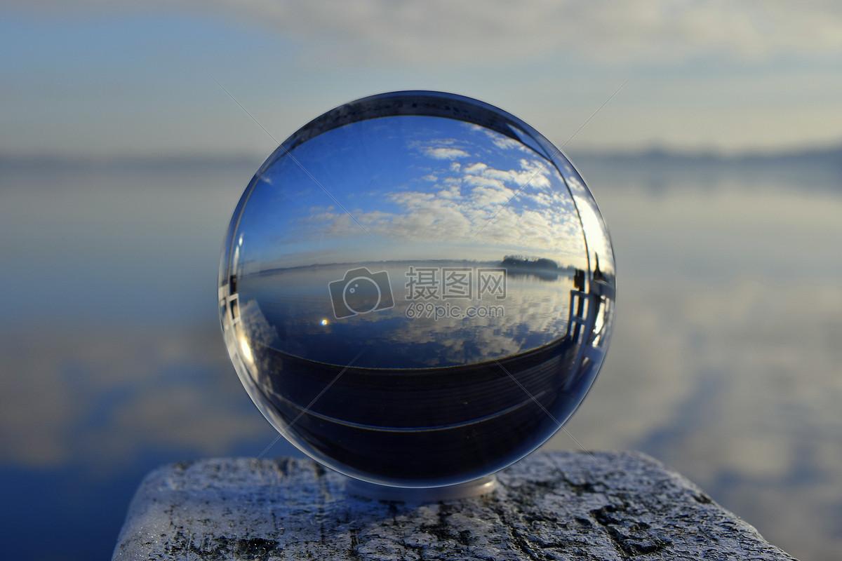 透明玻璃球摄影图片免费下载_自然/风景图库大全_编号