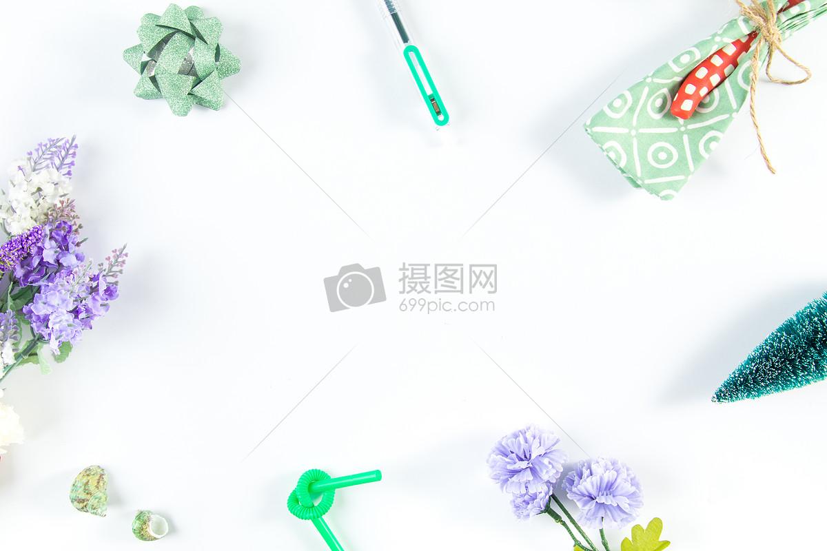 小清新草木绿设计背景摄影图片免费下载_背景/素材