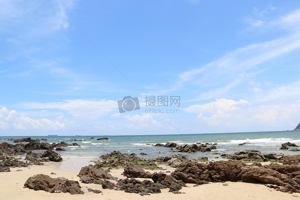 海边景色摄影图片免费下载_自然/风景图库大全_编号