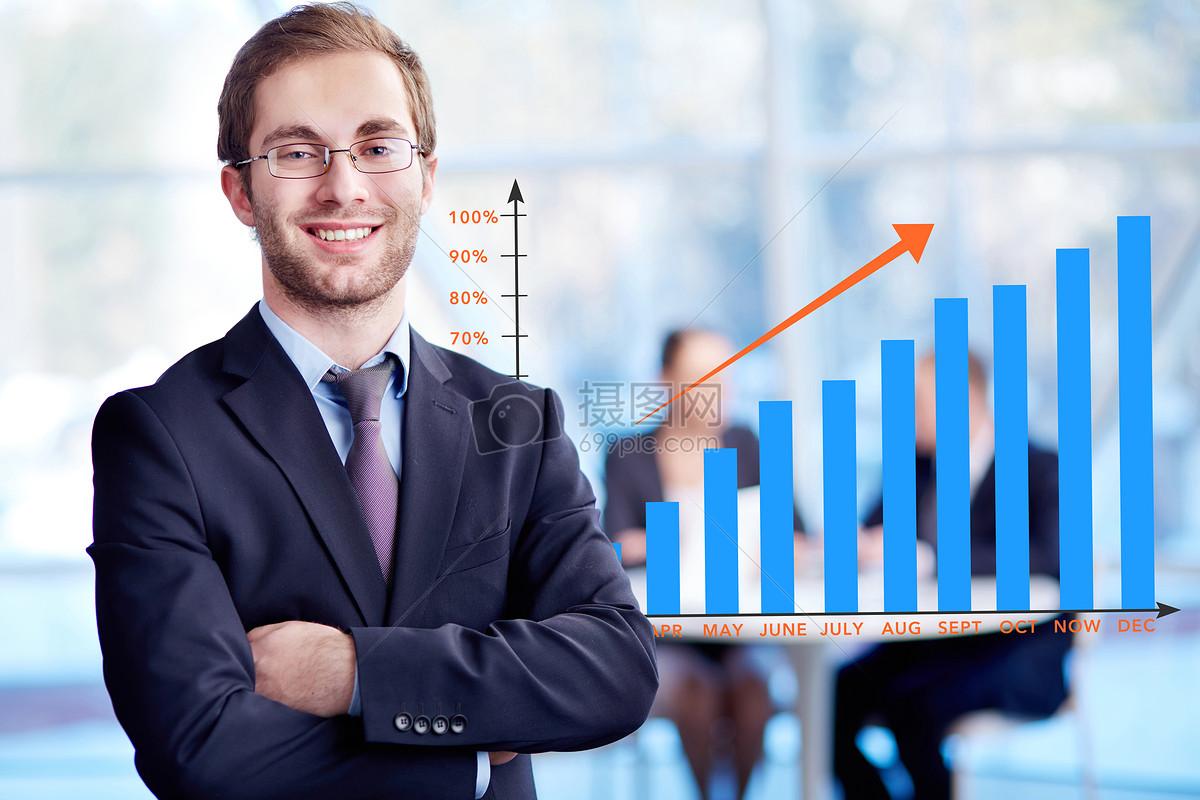 商务人士图表图片素材_免费下载_jpg图片格式_vrf高清