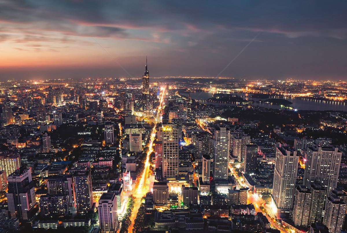 南京城市夜景