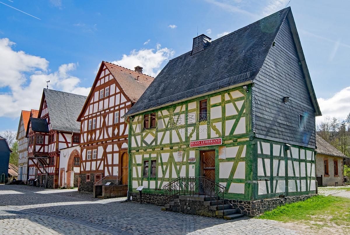 德国黑森房屋
