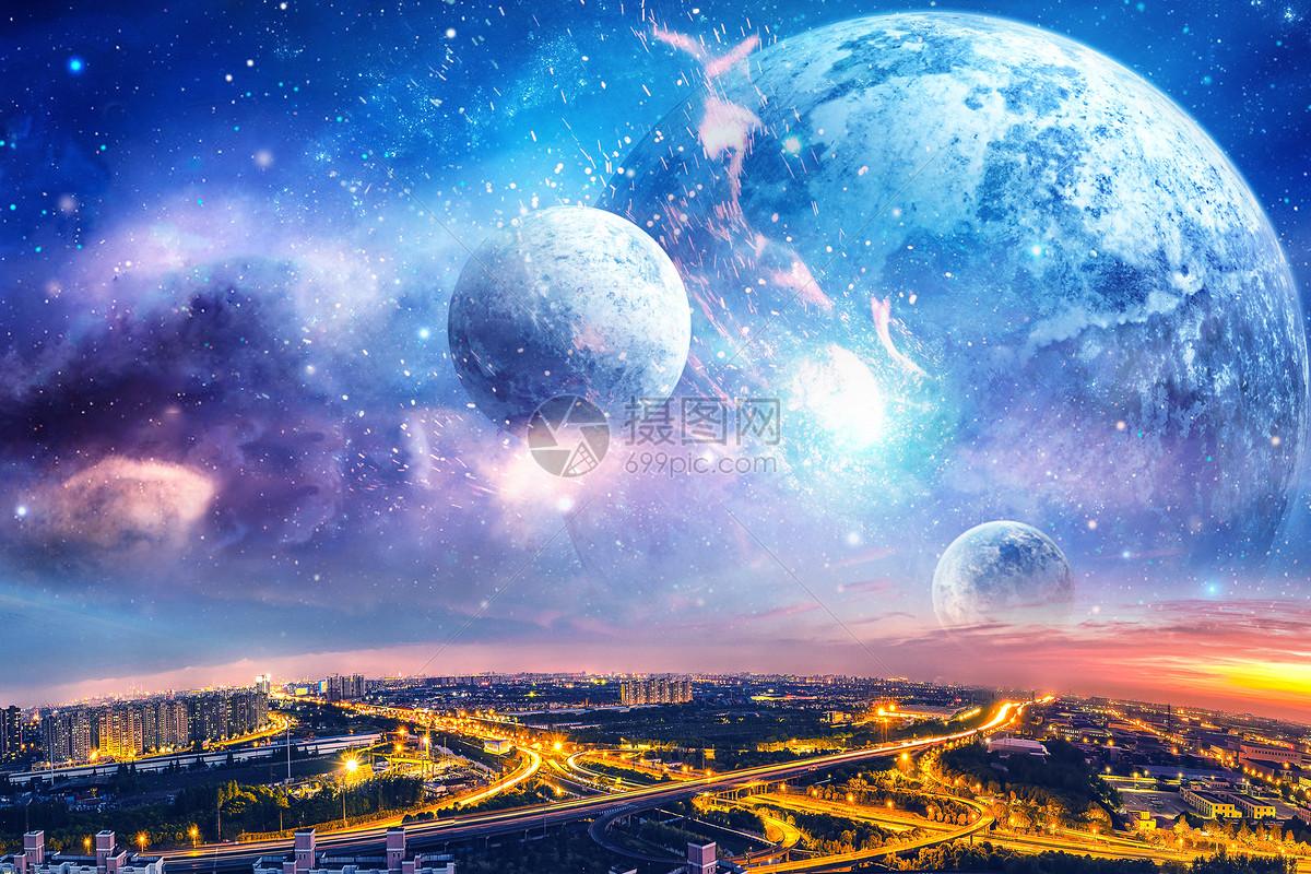 宇宙星空图片_宇宙星空素材_宇宙星空高清图片_摄